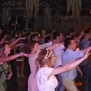 Macarena wedding party
